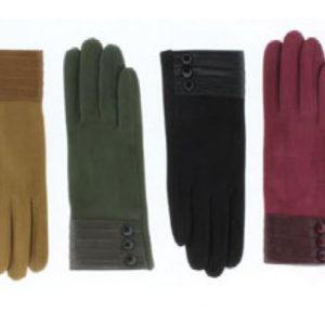 guantes puno botones