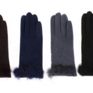 guantes topitos y pelo