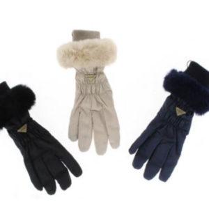 guantes nylon pelo