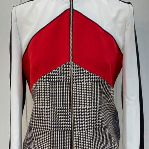chaqueta linea roja Rinascimiento