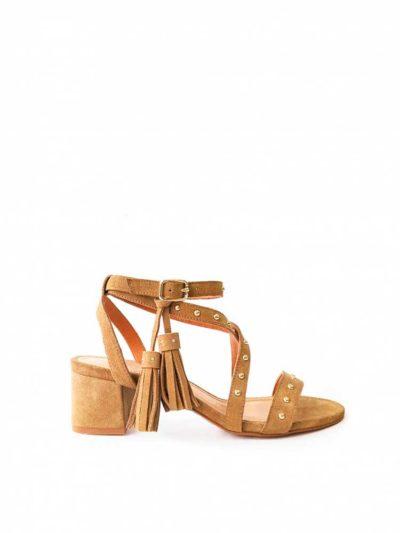 sandalia chiara camel
