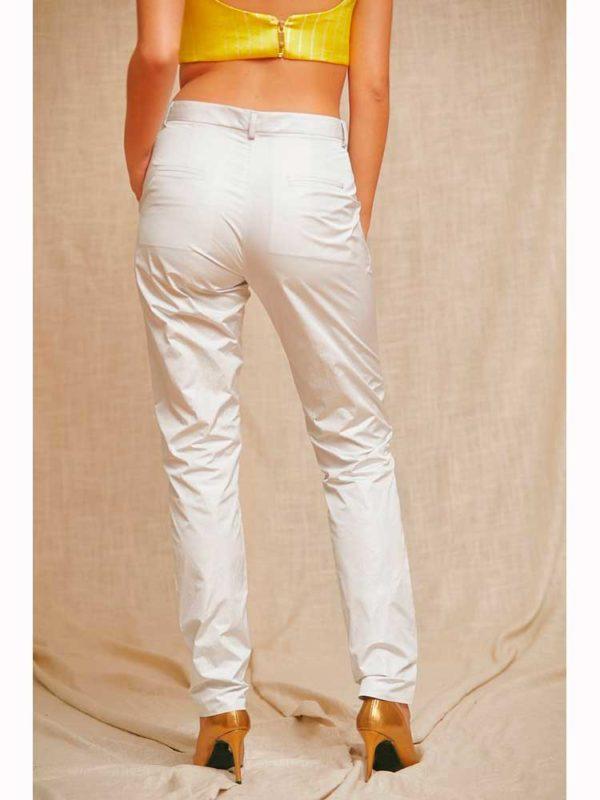 pantalon gris la condesa