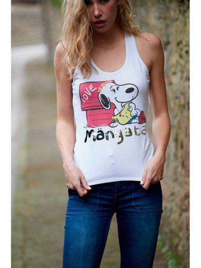 camiseta tirantes snoop