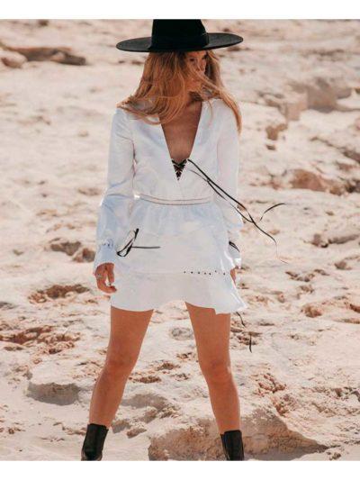 vestido lino imiloa