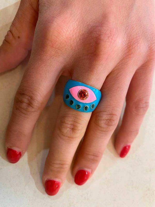 anillo ojos