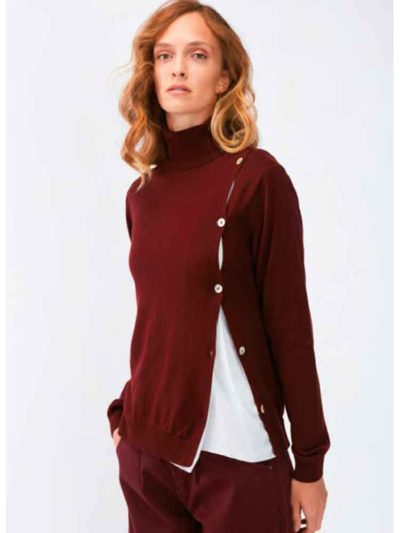 jersey boton lateral